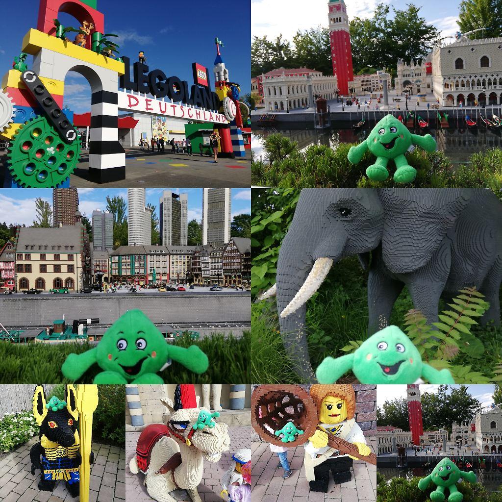 Paul aus Erlangen: Ich durfte mit meiner Familie ins Legoland reisen. Das war wie eine Weltreise. Da gab es die riesige Skyline von Frankfurt, Venedig, Dschungel, Kamele in Ägypten und im Orient. Entdeckt ihr mich auch beim Eingang zum Legoland (grünes Zahnrad 😉)? Das war eine richtig tolle Weltreise und ich habe viele neue Freunde gefunden! LG euer fitikus